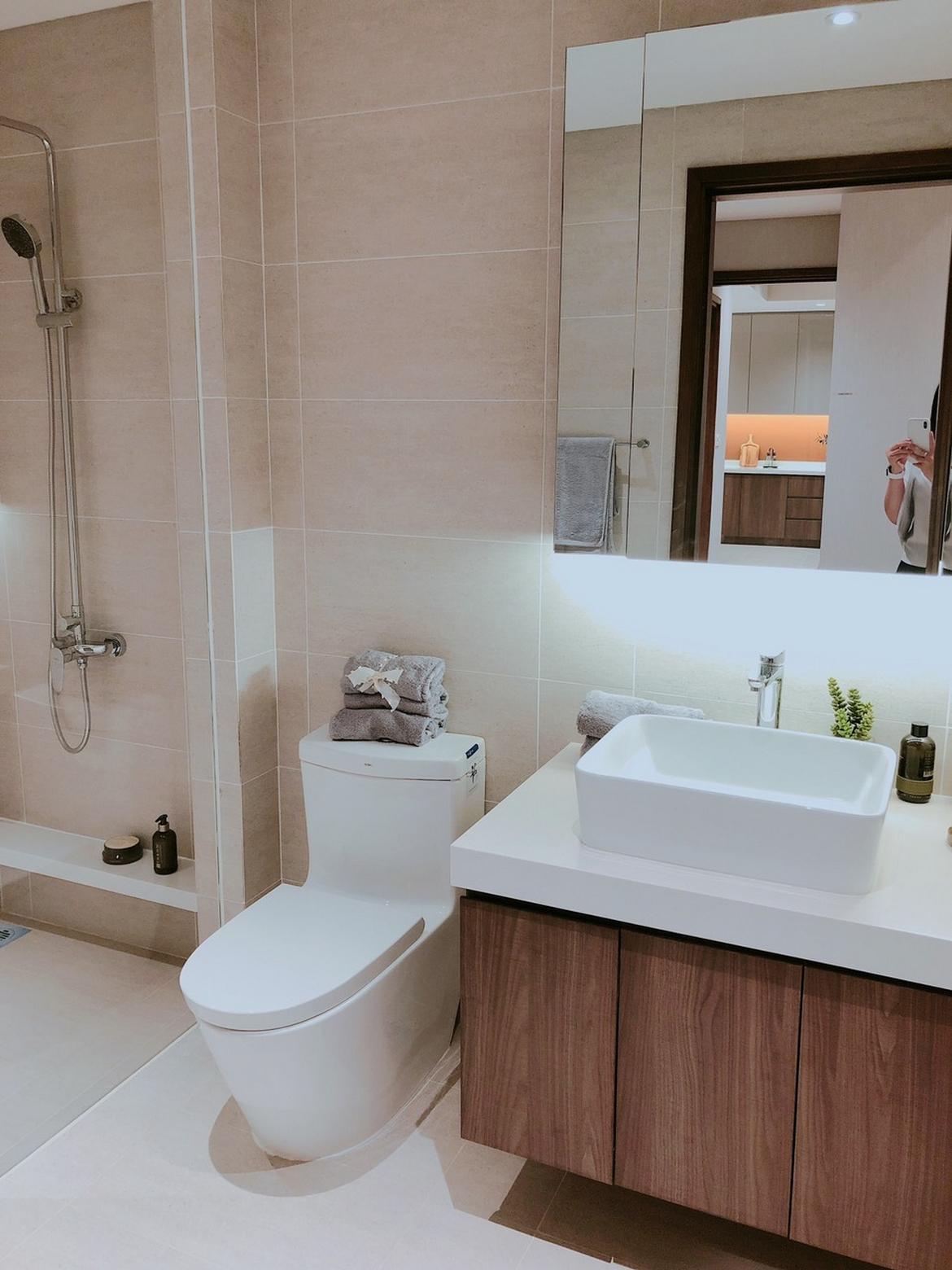 Không gian nhà tắm the Loft q7