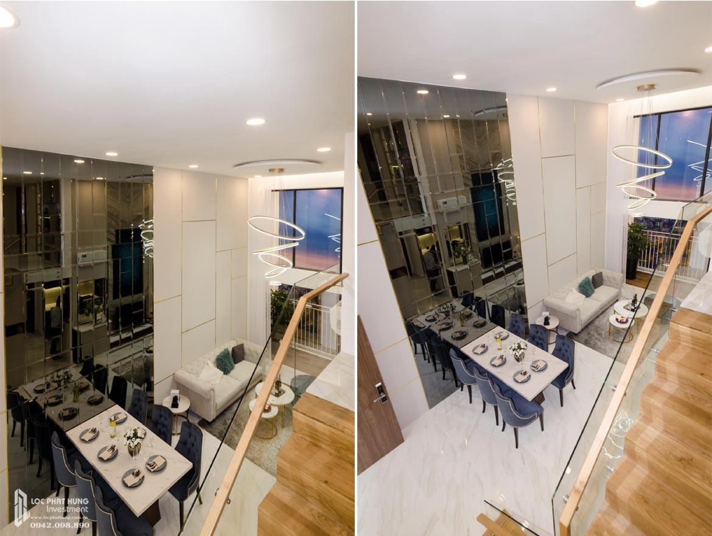 Toàn cảnh tầng lửng căn hộ mẫu có lửng dự án chung cư La Consmo Residences Quận Tân Bình – Liên Hệ SGD BĐS Lộc Phát Hưng 0942.098.890 Xem nhà mẫu + Nhận báo giá