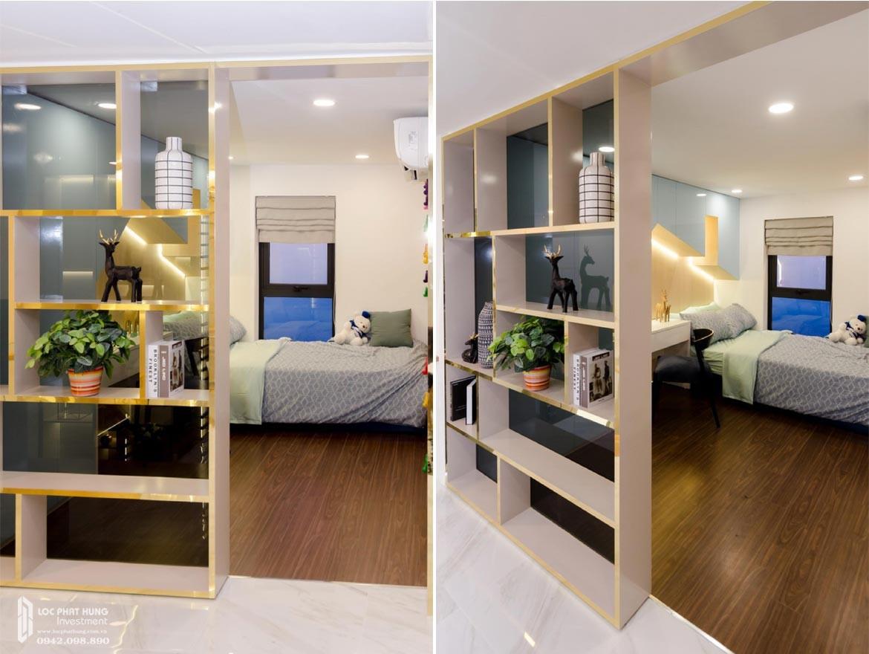 Thiết kế khu vực phòng ngủ 3 tầng lửng căn hộ mẫu có lửng dự án chung cư La Consmo Residences Quận Tân Bình – Liên HệSGD BĐS Lộc Phát Hưng0942.098.890Xem nhà mẫu + Nhận báo giá