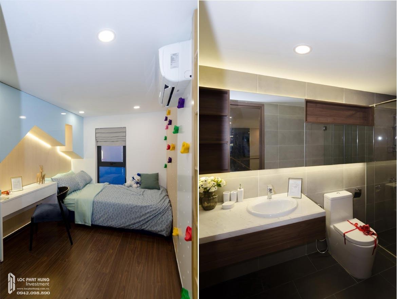 Thiết kế khu vực phòng ngủ 3 tầng lửng căn hộ mẫu có lửng dự án chung cư La Consmo Residences Quận Tân Bình – Liên Hệ SGD BĐS Lộc Phát Hưng 0942.098.890 Xem nhà mẫu + Nhận báo giá