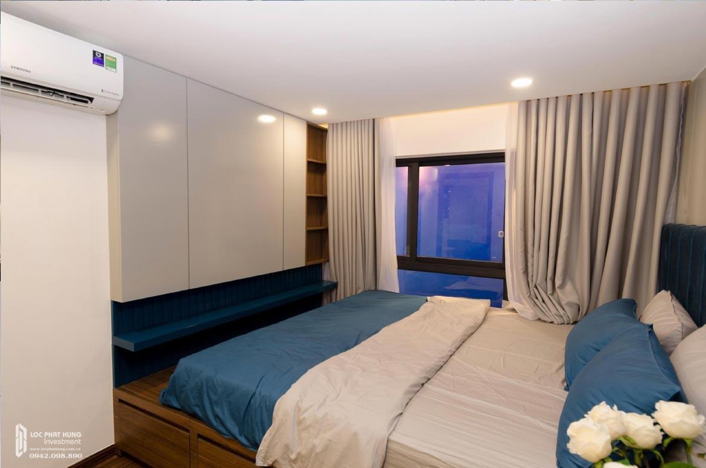 Thiết kế khu vực phòng ngủ 2 tầng lửng căn hộ mẫu có lửng dự án chung cư La Consmo Residences Quận Tân Bình – Liên Hệ SGD BĐS Lộc Phát Hưng 0942.098.890 Xem nhà mẫu + Nhận báo giá
