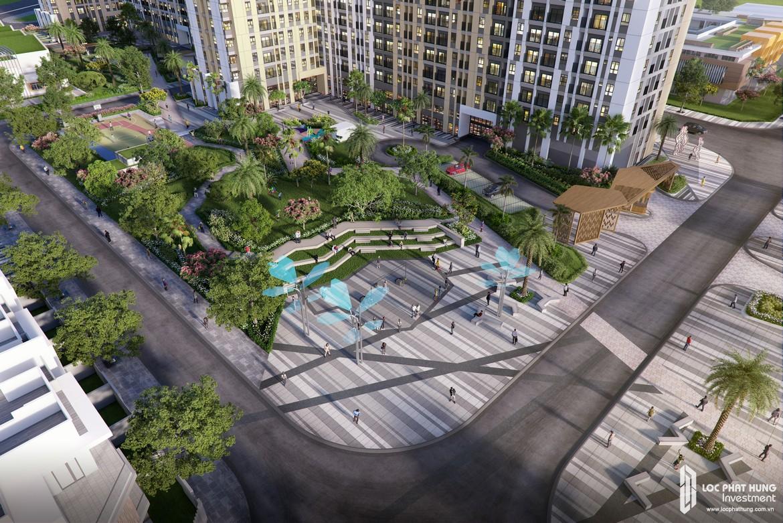 Phối Cảnh tổng thể dự án căn hộ chung cư Picity High Park Quận 12
