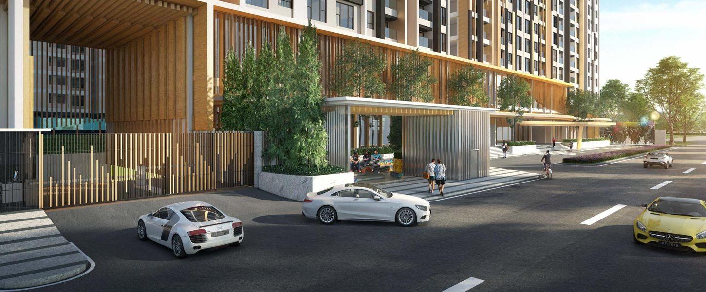Slide trang chủ Mua bán cho thuê dự án căn hộ chung cư Define Quận Bình Thạnh Đường Ung Văn Khiêm chủ đầu tư Captaland