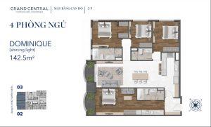 Thiết kế dự án căn hộ Grand Central Quận 3 đường Nam Kỳ Khởi Nghĩa Quận 3