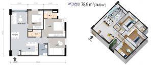 Thiết kế dự án căn hộ PiCity High Park Quận 12 đường Thạnh Xuân 13 Quận 12