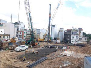 Tiến độ xây dựng dự án căn hộ chung cư La Cosmo tháng 06/2019
