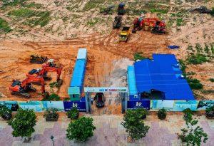 Tiến độ xây dựng dự án Condotel biệt thự Mũi Né Summer Land Tháng 9/2019