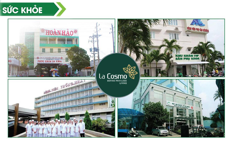 Các bệnh viện gần căn hộ chung cư La Cosmo Residences Quận Tân Bình Đường Hoàng Văn Thụ chủ đầu tư An Gia Hưng