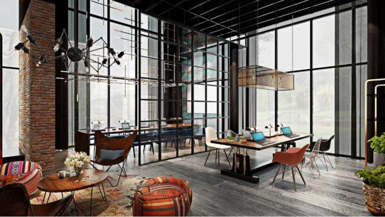 Tiện ích Co-Working dự án căn hộ chung cư Define Quận 2 Đường Thạnh Mỹ Lợi chủ đầu tư Captaland