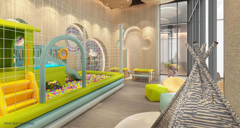 Tiện ích khu vui chơi trẻ em dự án căn hộ chung cư Define Quận 2 Đường Thạnh Mỹ Lợi chủ đầu tư Captaland