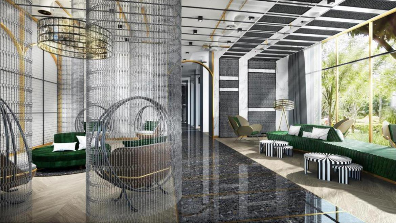Tiện ích sảnh đón dự án căn hộ chung cư Define Quận 2 Đường Thạnh Mỹ Lợi chủ đầu tư Captaland