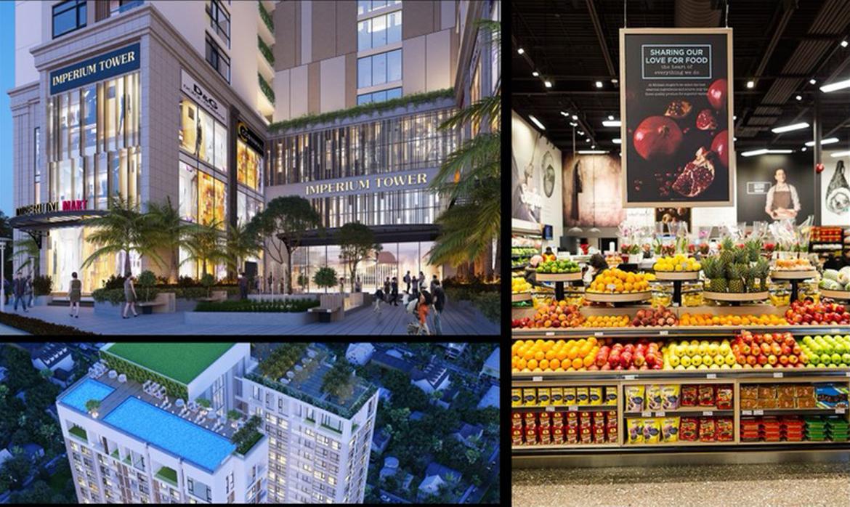 Toàn cảnh tiện ích dự án căn hộ chung cư Imperium Town Nha Trang Đường Phước Long chủ đầu tư Indochine Nha Trang