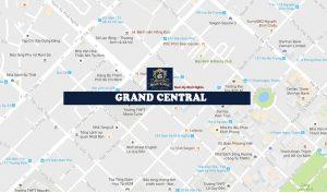 Vị trí địa chỉ dự án căn hộ chung cư Grand Central Quận 3