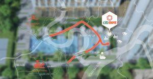 Vị trí địa chỉ dự án căn hộ chung cư Citi Grove Quận 2