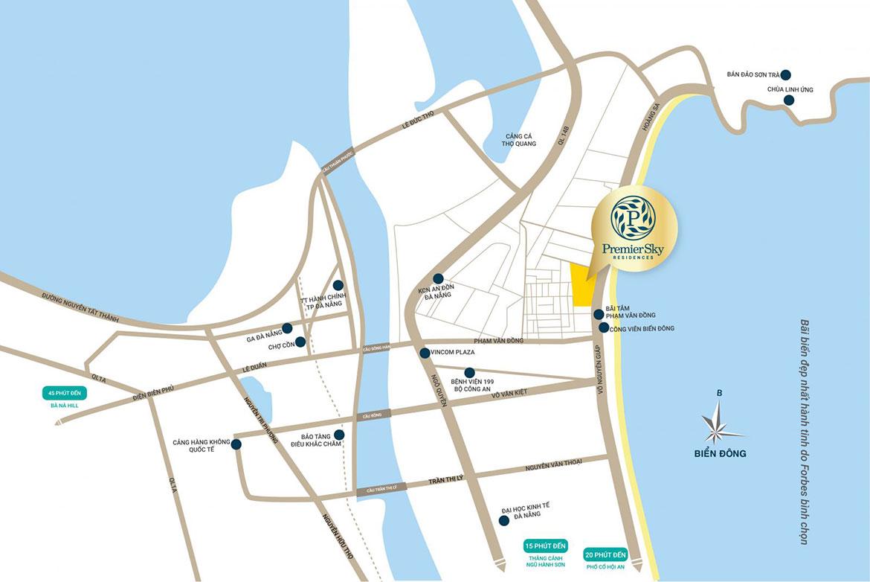 dự án căn hộ chung cư Premier Sky Residences Da Nang