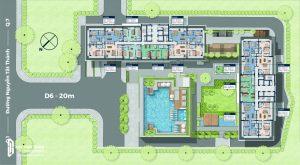 Mặt bằng thiết kế căn hộ Lancaster Lincoln Quận 4