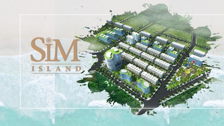 Tổng thể dự án căn hộ condotel Sim Island Phú Quốc Đường Bãi Trường chủ đầu tư Hoàng Hải Phú Quốc