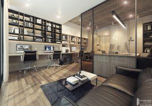 Hình ảnh nhà mẫu dự án căn hộ chung cư Lancaster Lincoln Quận 4