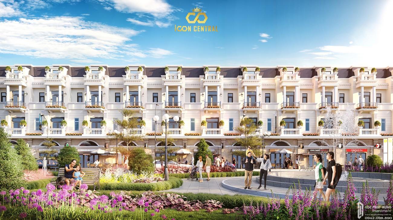 Tổng quan dự án đất nền nhà phố Icon Central Dĩ An Bình Dương chủ đầu tư Phú Hồng Thịnh