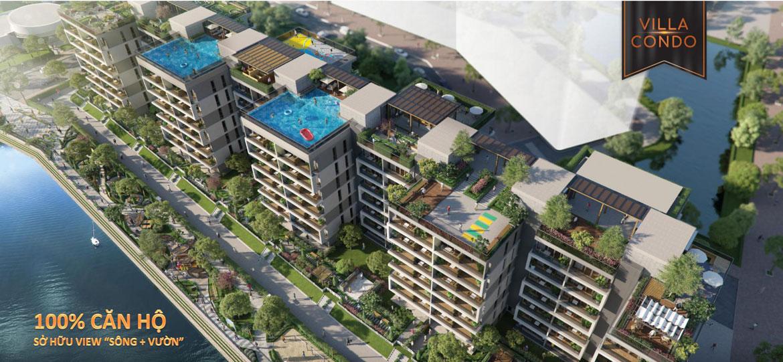 Phối cảnh tổng thể tiện ích dự án căn hộ Panomax River Villa Quận 7