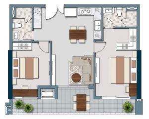Thiết kế chi tiết dự án căn hộ Lancaster Lincoln Quận 4