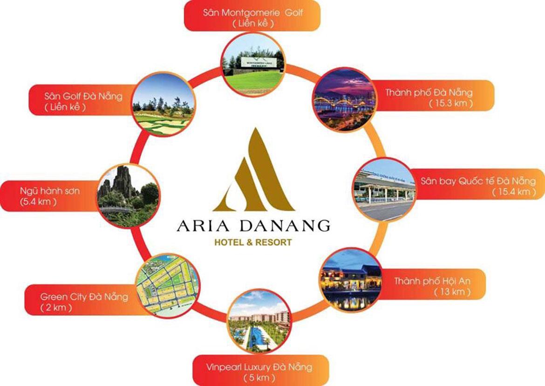 Tiện ích dự án Aria ĐÀ Nẵng Hotel and resort