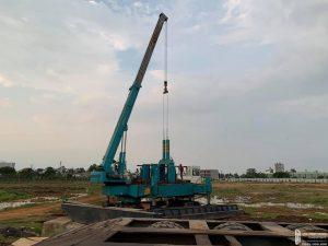Tiến độ xây dựng dự án căn hộ chung cư Picity High Park tháng 10/2019