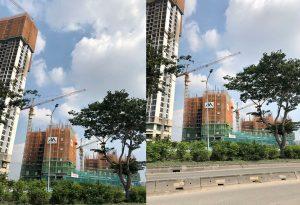 Tiến độ xây dựng dự án căn hộ chung cư Eco Green Sài Gòn tháng 10/2019