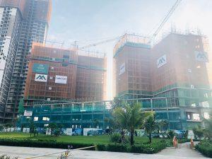 Tiến độ xây dựng dự án căn hộ chung cư Eco Green Sài Gòn tháng 11/2019