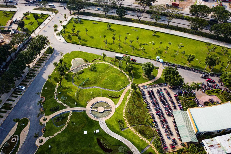 Công Viên nội khu tại Eco Green Sài Gòn