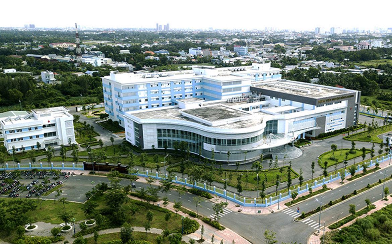 Bệnh viện Bình Chánh ngay trong khu hành chính, vị trí của khu dân cư Bình Chánh