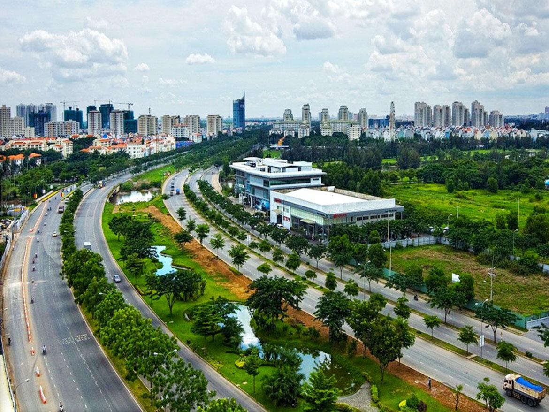 Bình Chánh đang hoà cùng xu hướng phát triển của thành phố