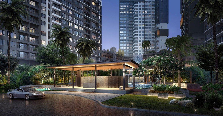 Phối cảnh dự kiến dự án căn hộ chung cư Celesta Rise Rise Nhà Bè Đường Nguyễn Hữu Thọ chủ đầu tư Keppel Land