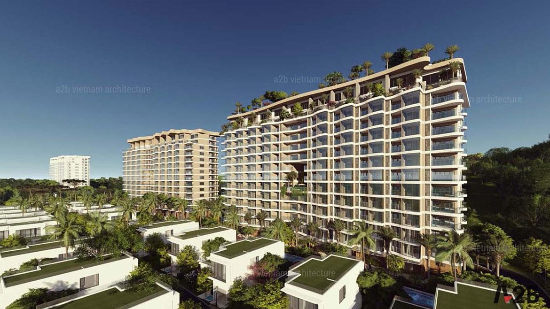 Khu căn hộ cao cấp và biệt thự ven biển tại Aria