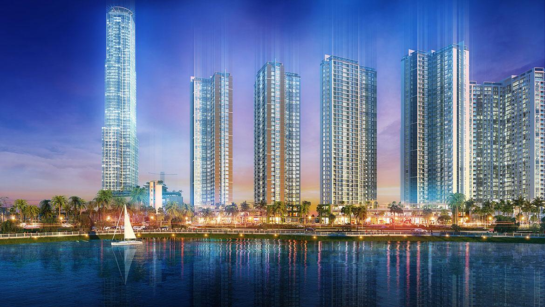 Dự án Eco Green Sài Gòn bên bờ sông