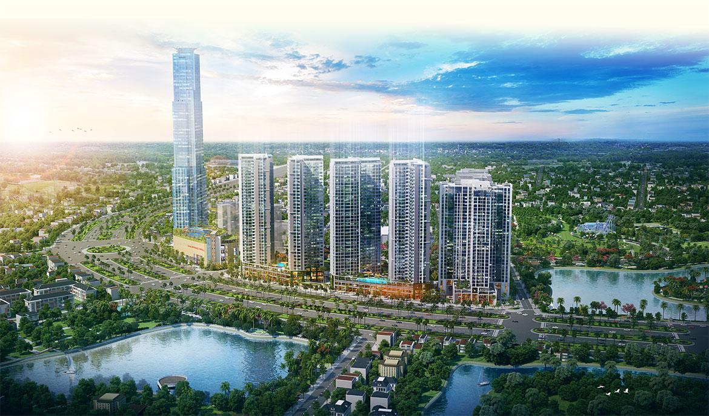 Eco Green Sài Gòn với lối kiến trúc độc đáo