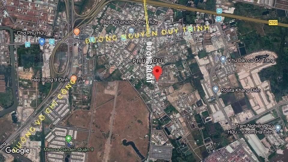 Hình ảnh thực tế vị trí địa chỉ dự án căn hộ chung cư Ricca Quận 9