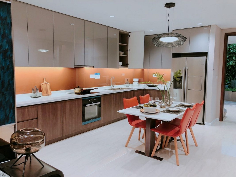 Nhà mẫu dự án căn hộ chung cư The Loft Riviera Point Quận 7 Đường Huỳnh Tấn Phát chủ đầu tư Keppel Land