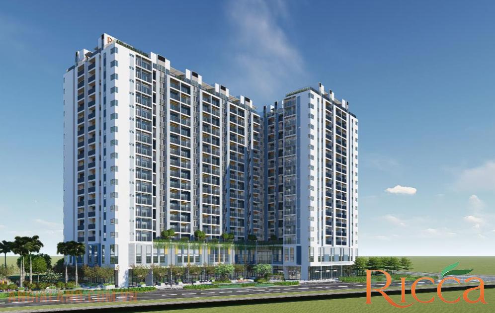 Phối cảnh tổng quan dự án căn hộ Ricca Quận 9