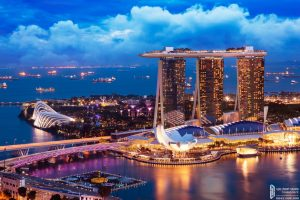 Sunshine Diamond River xứng tầm khu Marina Bay Sands cao cấp tại Singapore