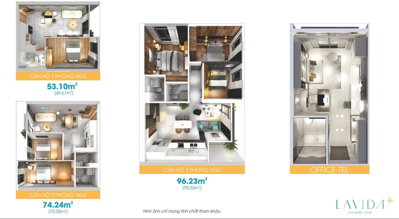 Thiết kế dự án căn hộ Lavida Plus chủ đầu tư Quốc Cường Gia Lai