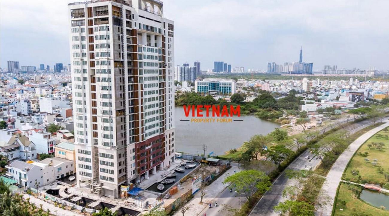Tiến độ dự án căn hộ chung cư Ascent Lakeside Quận 7 tháng 01/2020 Đường Nguyễn Văn Linh chủ đầu tư Tiến Phát-Sanyo Home