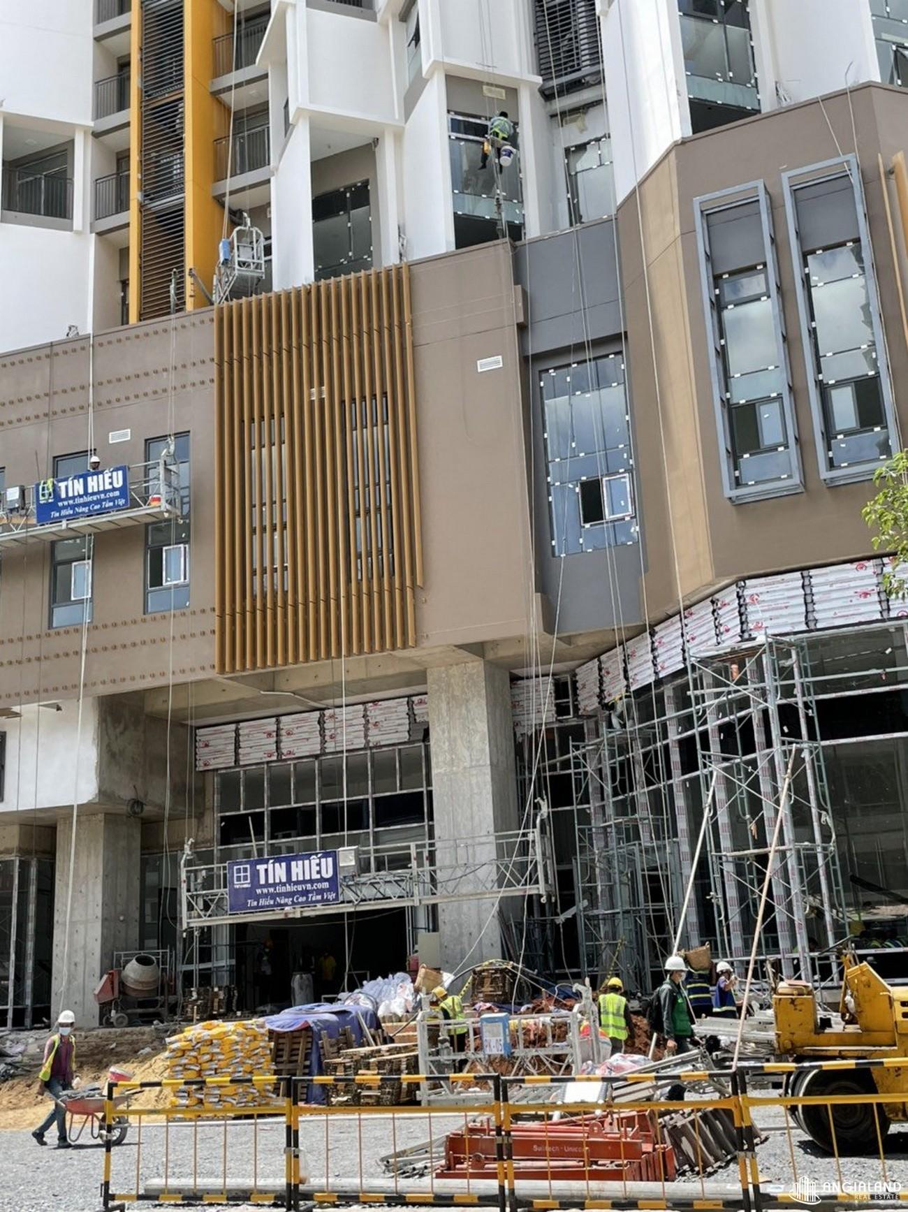 Tiến độ dự án căn hộ chung cư Asiana Capella Quận 6 đường Trần Văn Kiểu