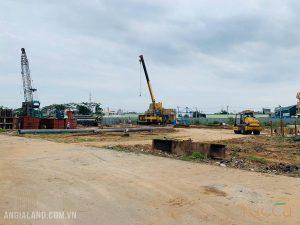 Tiến độ xây dựng dự án căn hộ chung cư Ricca Quận 9 tháng 11/2019