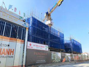 Tiến độ xây dựng dự án Panomax River Villa tháng 11/2019