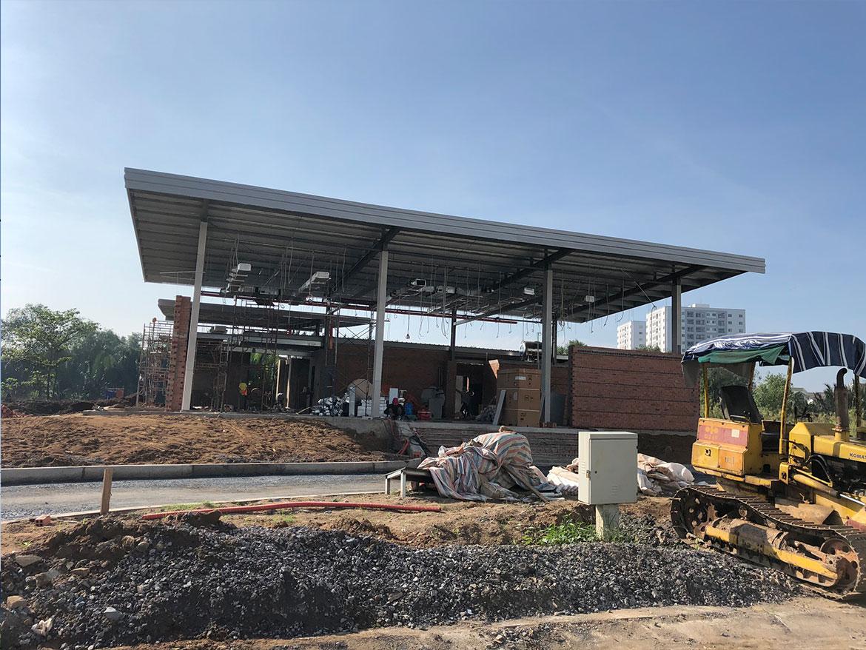 Tiến độ xây dựng dự án Panomax River Villa Tháng 11