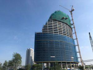Tiến độ xây dựng dự án chung cư Sunshine Diamond River 02/11/2019 – Nhận mua bán + ký gửi + Cho Thuê