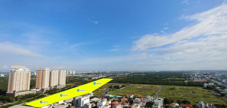 Vị trí địa chỉ dự án căn hộ chung cư Celesta Rise Rise Nhà Bè Đường Nguyễn Hữu Thọ chủ đầu tư Keppel Land