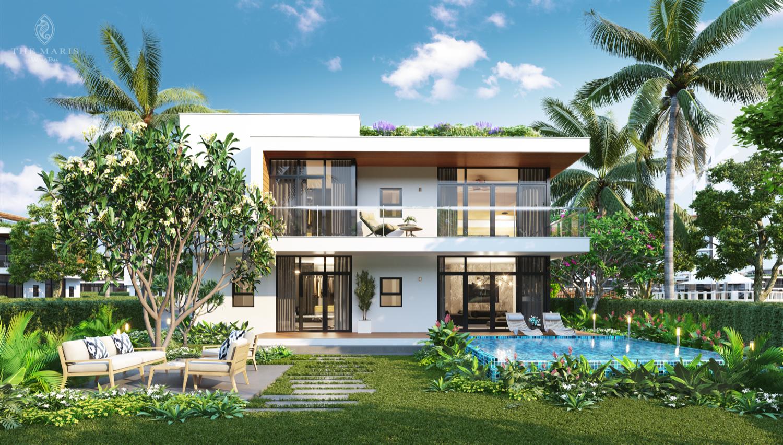Hình ảnh The Maris facade villa 3