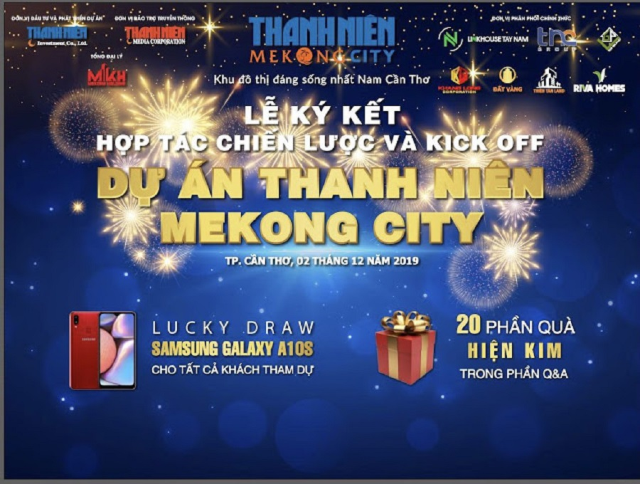 Banner Dự án Thanh Niên Mekong City